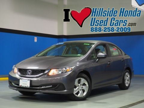Certified Pre-Owned 2015 Honda Civic LX