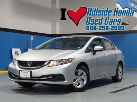 Certified Pre-Owned 2014 Honda Civic LX FWD 4D Sedan