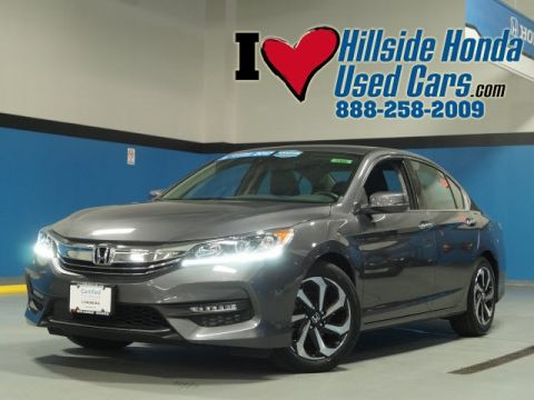Certified Used Honda Accord EX-L v6 w/ Navigation and Honda Sensing