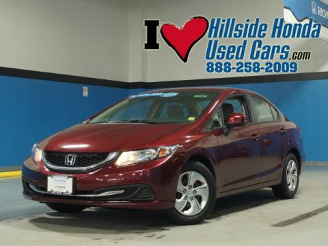 Certified Pre-Owned 2013 Honda Civic LX FWD 4D Sedan