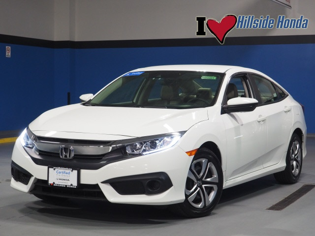 Certified Pre-Owned 2016 Honda Civic LX w/ Honda Sensing