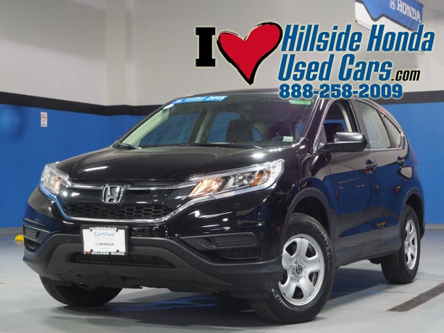 Certified Pre Owned 2015 Honda CR V LX